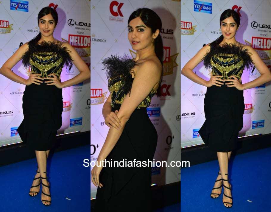 Adah Sharma in Nikhita Tandon at Hello Hall Of Fame Awards 2018