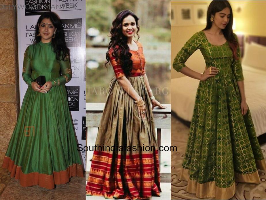 Anarkali Gowns
