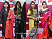 Celebrities at Zee Natya Gaurav Awards 2018