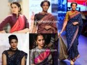 Collar Saree Blouse Designs Featured
