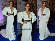 Deepika Padukone in Falguni and Shane Peacock at Hello Hall Of Fame Awards 2018