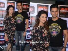 Divyanka Tripathi and Vivek Dahiya at Kehna Ko Humsafar Hain TV Series Screening 1