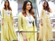 Ileana D Cruz in Label Anushree at Raid Movie Promotions