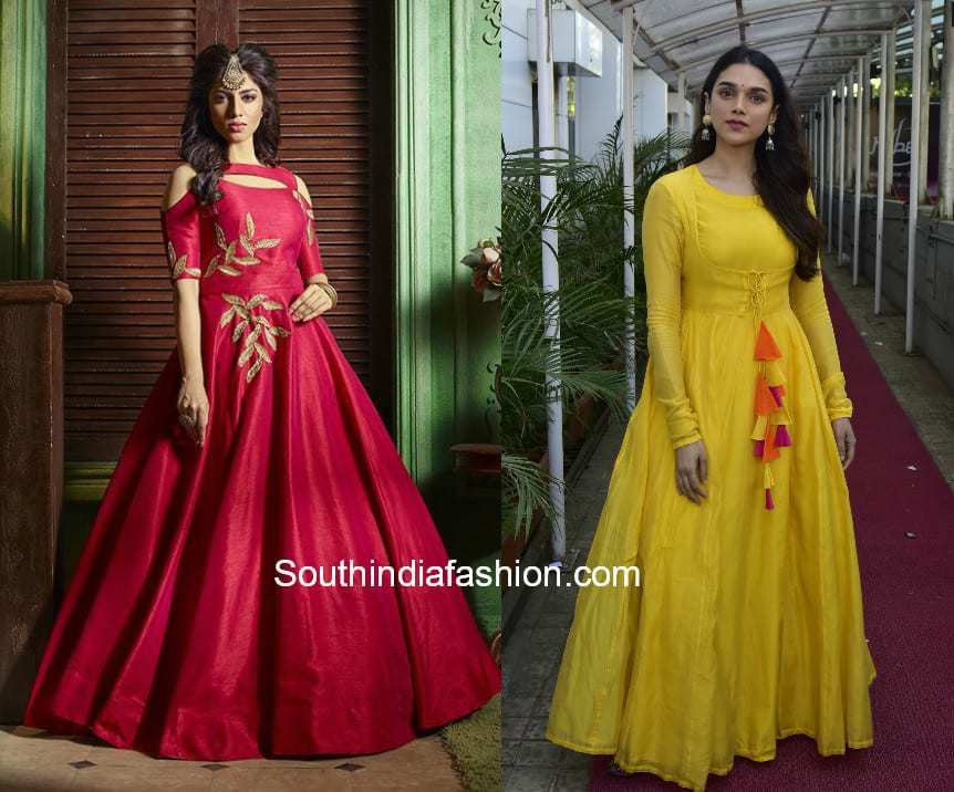 Indian Party Wear Gowns