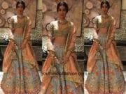 Khushi Kapoor in Manish Malhotra at the Dubai Wedding