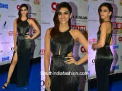 Kriti Sanon in Sharnita Nandwana at Hello Hall Of Fame Awards 2018