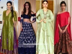 latest trends in lehengas