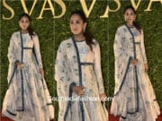 Mira Kapoor in SVA Couture at the store launch 1