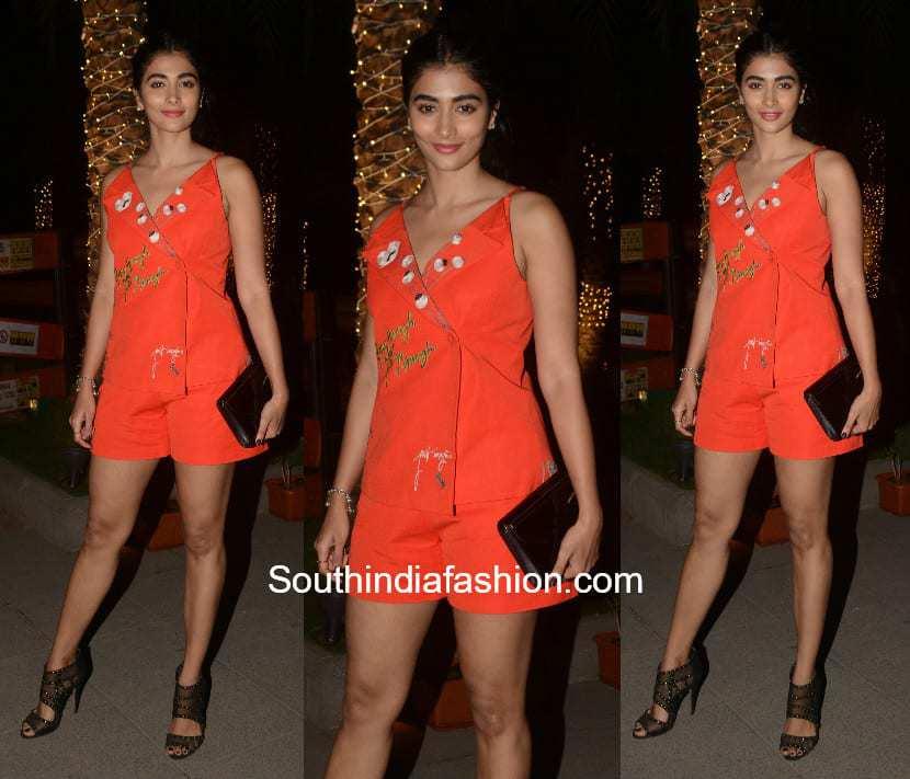 Pooja Hegde in a casual western look