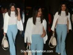 Priyanka Chopra in western wear at the airport