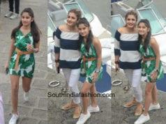 Raveena Tandon with daughter Rasha Thadani for her birthday