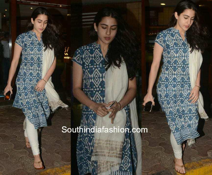 Sara Ali Khan in a salwar suit