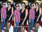 Shruti Haasan and Akshara Haasan in a casual look