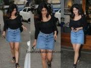 Shruti Haasan's casual street style look