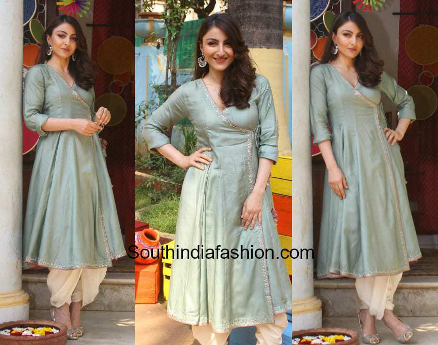Soha Ali Khan in Jaypore at the store launch