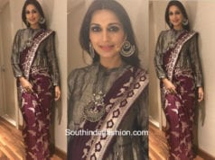 Sonali Bendre in Mint n' Oranges at T20 Launch