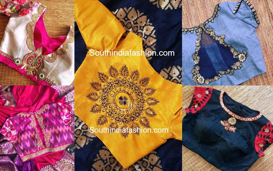 Stylish blouses for wedding party