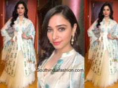 Tamanna Bhatia in Anita Dongre at a store launch