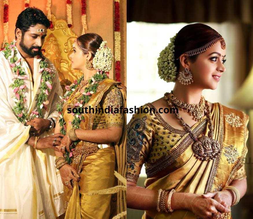6cbd1df165 Top 15 Wedding Saree Looks of South Indian Celebrity Brides