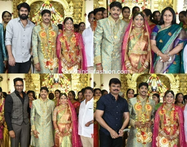 producer c kalyan son teja wedding photos