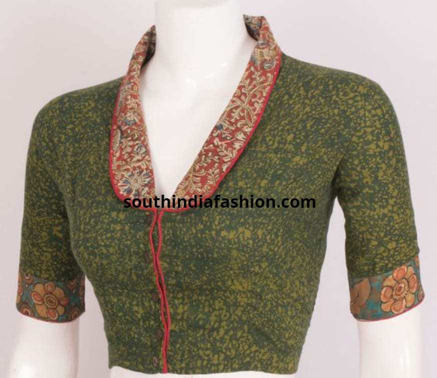 Collar Neck Blouses