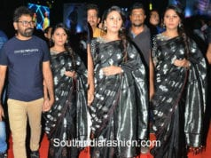 director sukumar wife Thabitha at rangasthalam pre release function