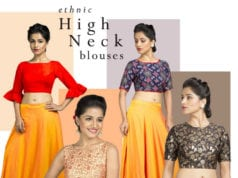 high neck blouses