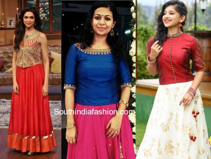 6 Sassy Ways To Give Your Traditional Indian Skirts A ...