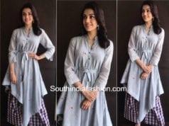 kajal aggarwal costumes MLA movie promotions