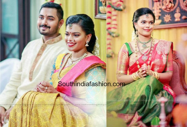 parthiban daughter keerthana engagement photos
