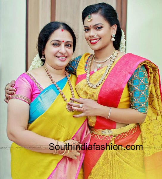parthiban and seetha daughter keerthana engagement photos