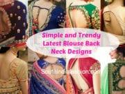 latest blouse back neck designs 2018