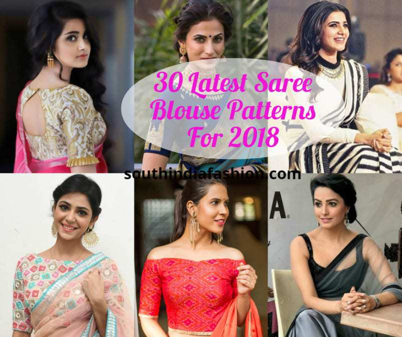 77440d7141f0c 30 Latest Saree Blouse Patterns For 2018