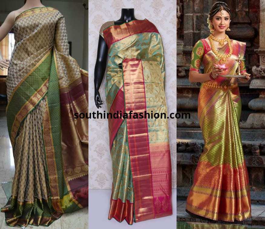blouses for light color pattu sarees