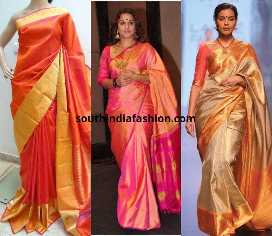 light color pattu sarees