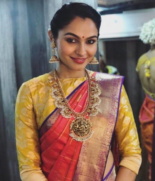 saree makeup and hairstyle
