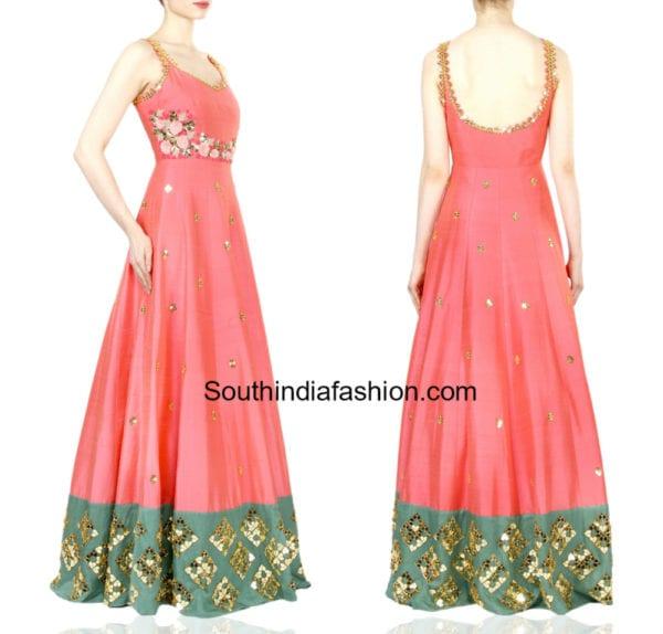 indian brides mehendi dresses