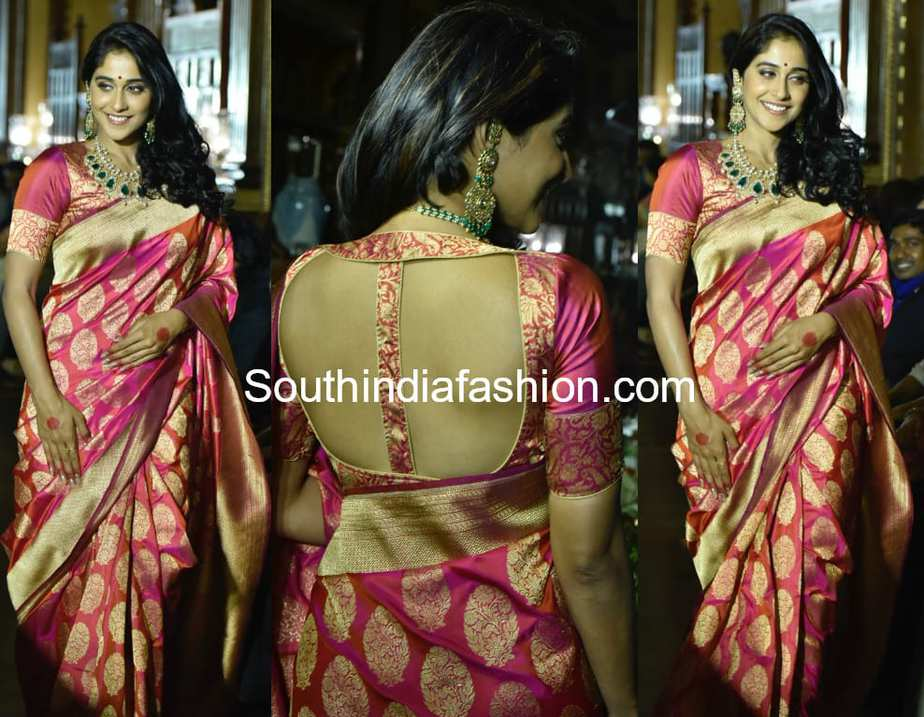 Regina cassandra banarasi saree teach for change