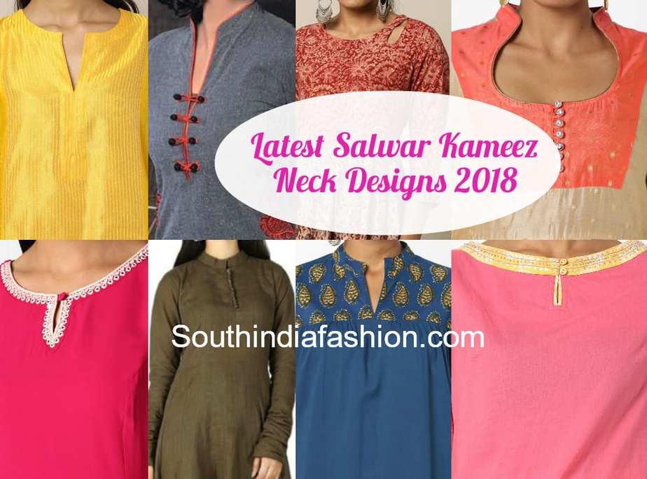 c1c3bb1567 Salwar Kameez Neck Designs 2018 | Stylish Kurti Neck Designs