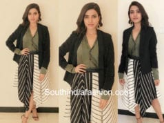 samantha akkineni in dhoti dress at ananthapur shopping mall opening