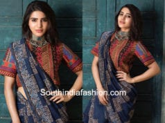 samantha akkineni handloom cotton saree