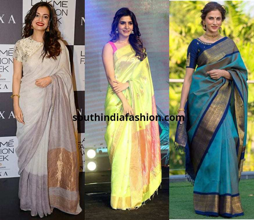 Floaty Or A Casual Drape for sarees