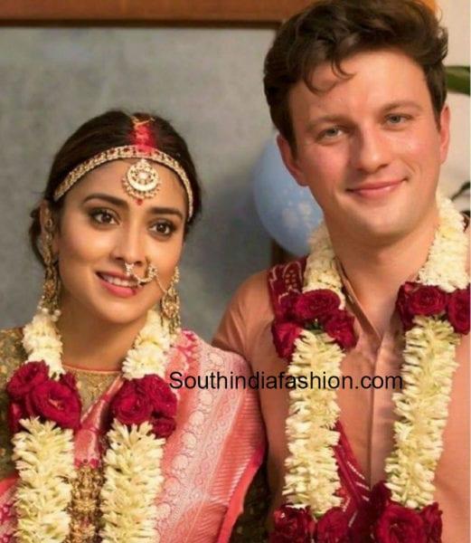 shriya marriage pics