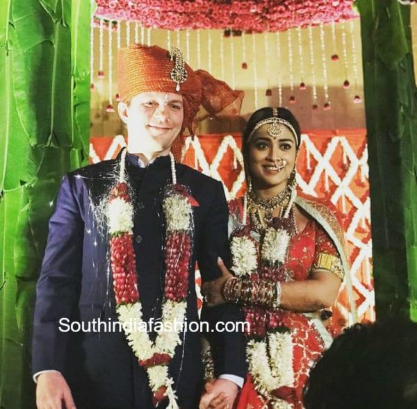 actress shriya marriage