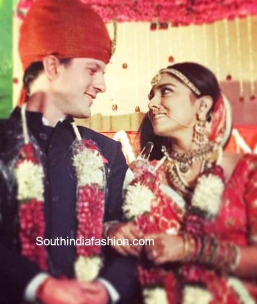 actress shriya wedding photos