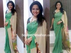 singer sunitha sarees 2018