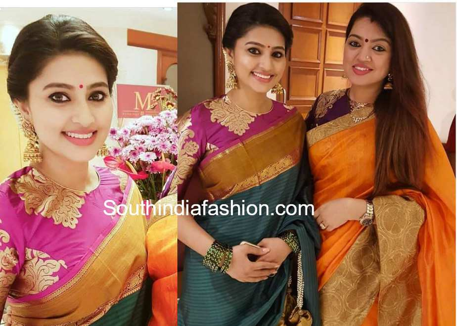 Sneha sister sangeetha fashion designer 50