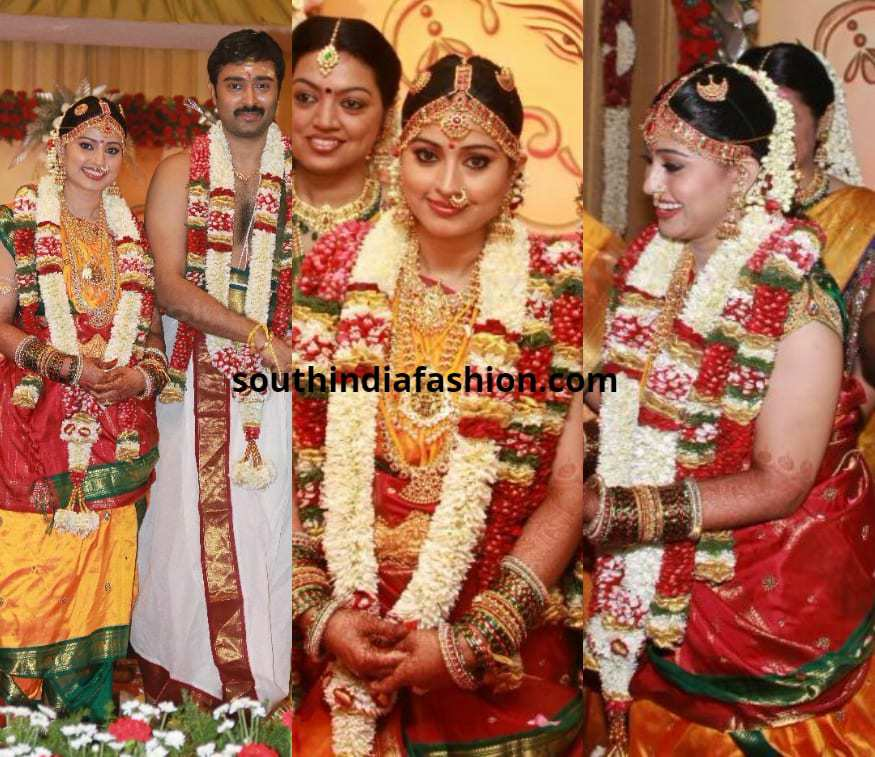 Sneha Wedding Hairstyle: Top 15 Wedding Saree Looks Of South Indian Celebrity Brides