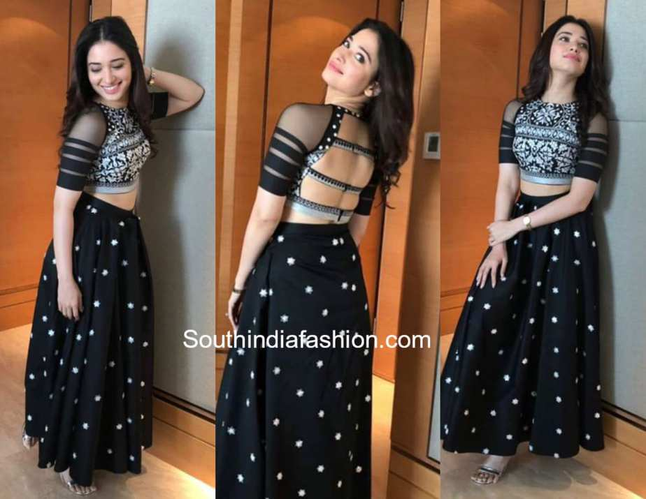 Long Skirt Crop Top ~ Fashion Trends ~ – South India Fashion