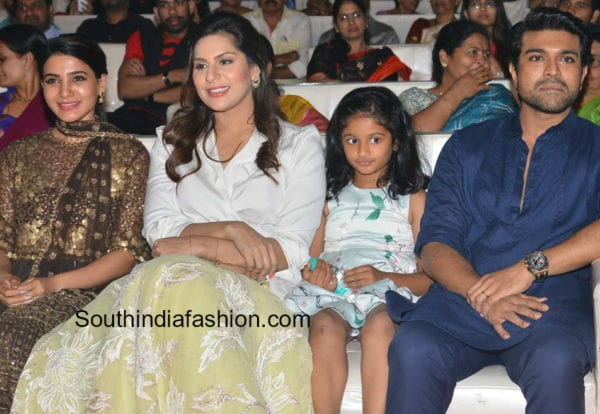 Rangasthalam Pre-Release Event
